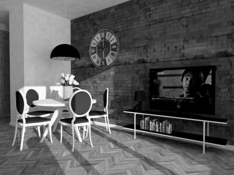 Mieszkanie z nutą retro